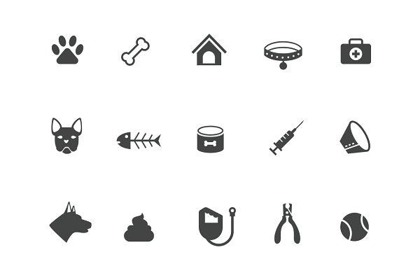 15 Dog Icons