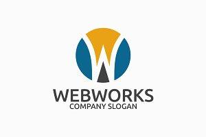 Webworks Letter W Logo