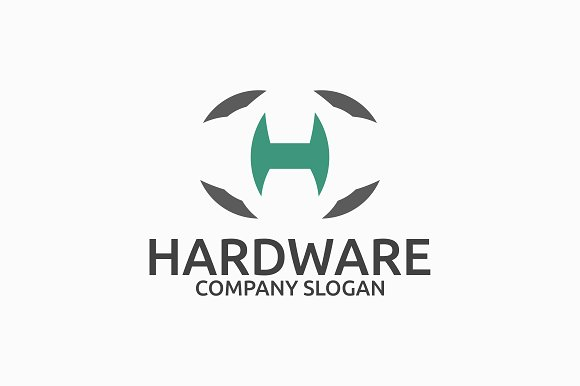 Hardware Letter H Logo