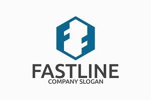 Fastline Letter F Logo