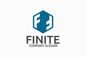 Finite Letter F Logo