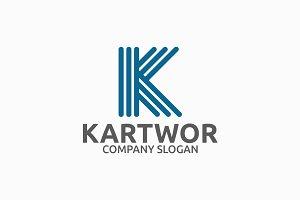 Kartwor Letter K Logo