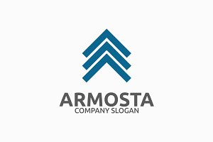 Armosta Letter A Logo