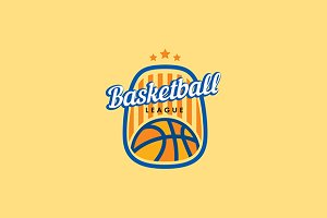 Basketball Vector Logo Template