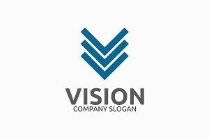 Vision Letter V Logo