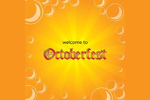 Octoberfest Vector Background