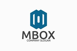 Mbox Letter M Logo