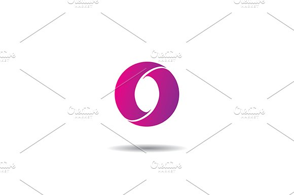 letter o vector logo logo templates creative market