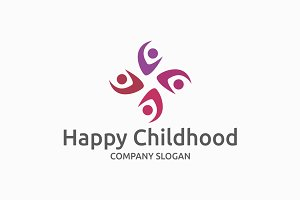 Happy Childhood Logo