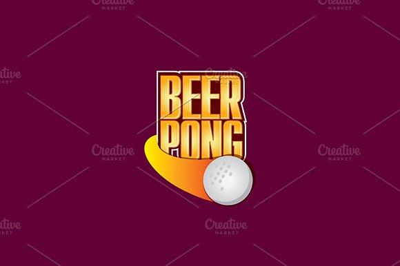 Beerpong championship logo