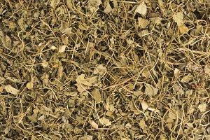 Dry Fenugreek Leaf flat texture
