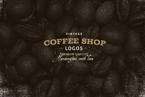 Vintage Coffee Shop logos