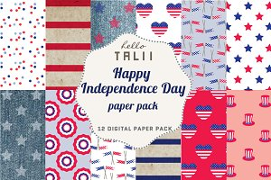 SALE! Happy Independence Day Pack