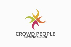 Crowd People Logo