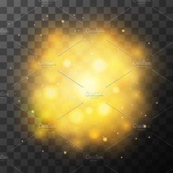 Golden Bright Light, Magic Effect