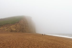 West Bay in Dorset, England UK