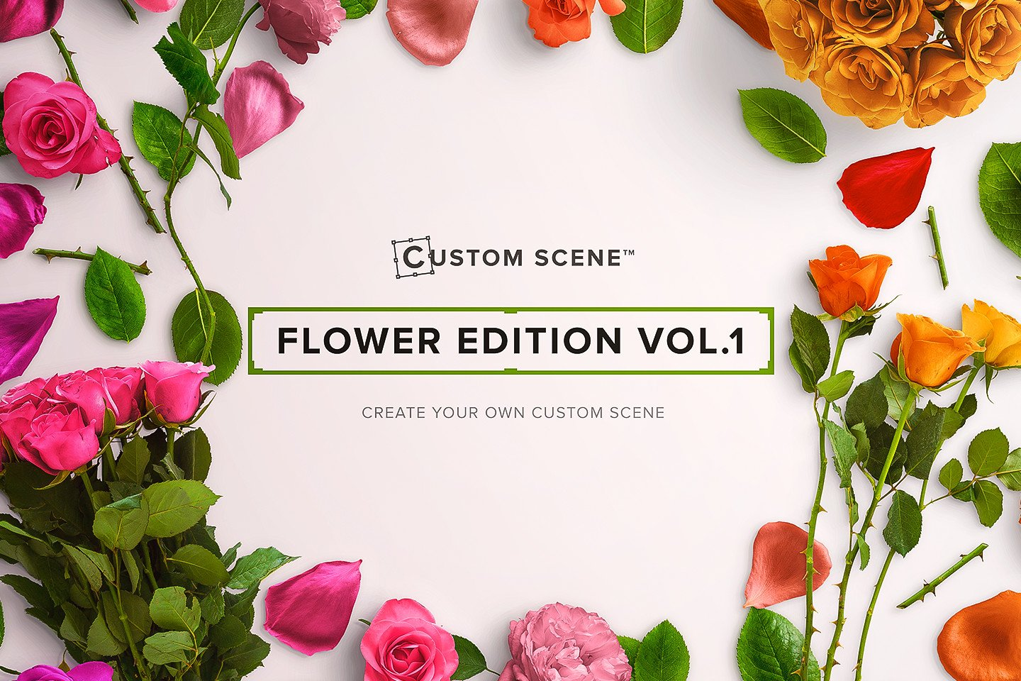 Flower Edition Vol 1 Custom Scene Graphic Objects Creative Market