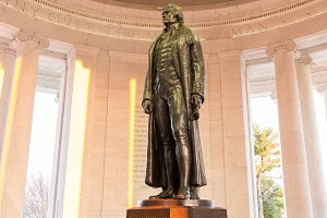 Thomas Jefferson in Washington DC