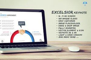 Excelsior Keynote Template