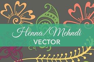 Henna / Mehndi Vector Art