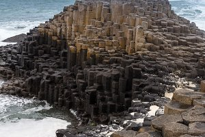 Giants Causeway in Ireland
