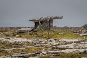 Burial Chamber in Ireland