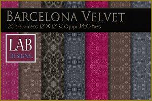 20 Seamless Velvet Textures