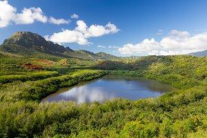 Menehune fish pond Kauai