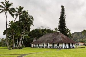 Old church in Hanalei Kauai