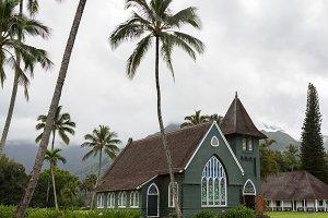 Old church Hanalei Kauai