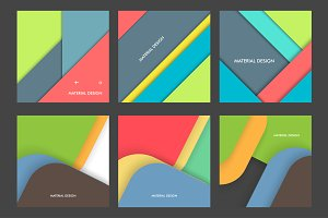 Modern material design set Vol.3