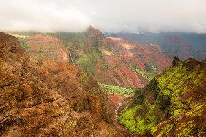 Waimea Canyon on Kauai Hawaii
