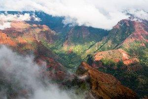 Waimea Canyon in Kauai Hawaii