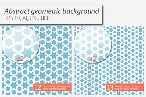7 Abstract Geometric Backgrounds
