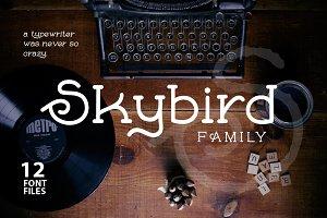 Skybird Font Family