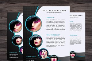 Flyer Template 001 for Photoshop