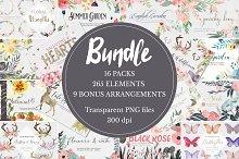 50% off! Massive Clipart Bundle!!
