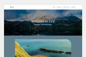 Eva - Responsive Minimal Blog Theme