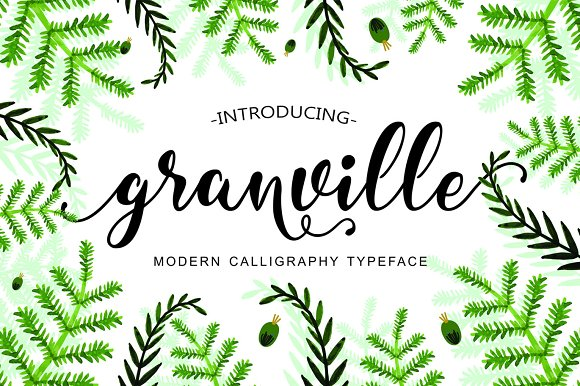 Granville Script (50% Off)