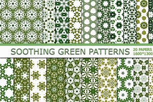 Soothing Green Patterns