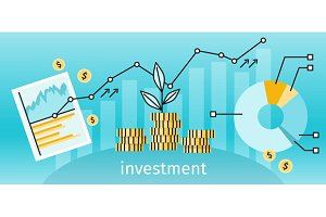 Finance Investment Concept Banner