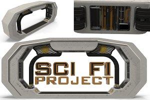 Sci Fi interior coupling member