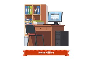 Comfortable home workplace