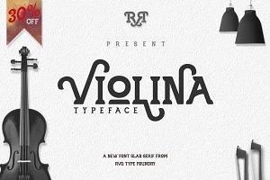 Violina Typeface (update) sale 30%