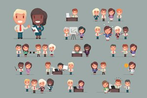 Business people big set 2