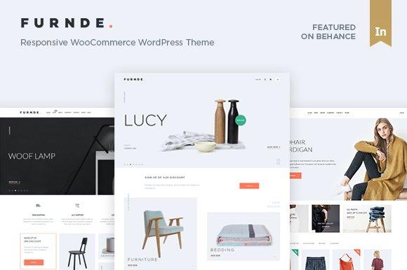 Furnde - Ecommerce WordPress Theme