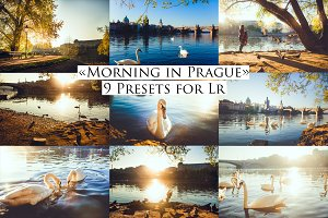 Morning in Prague- 9 presets for Lr