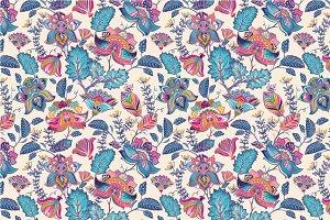 2 Vintage Floral Patterns