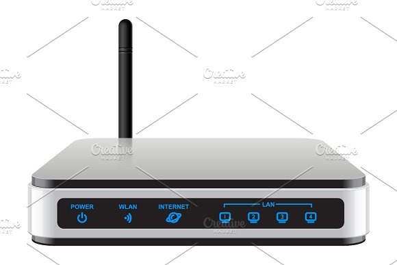 Cool Realisti Wireless Router