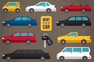 Car rent types